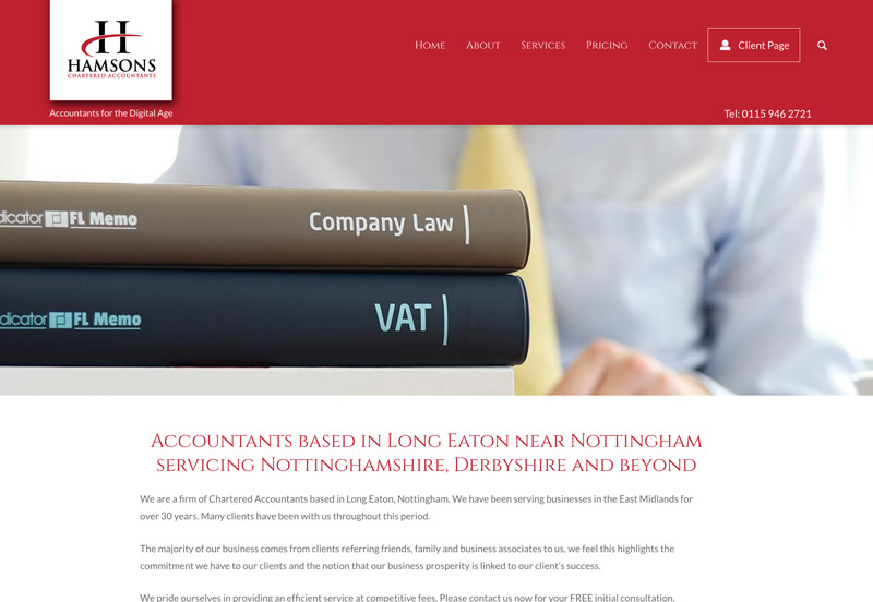 pjhamson accountants long eaton, nottinghamshire